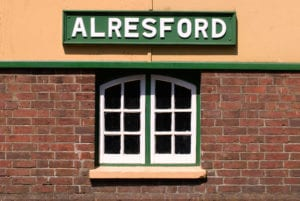 Alresford Station, Hampshire Near Wi